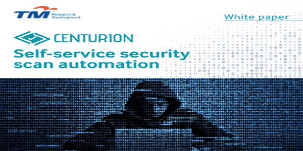 Self-service Security Scan Automation