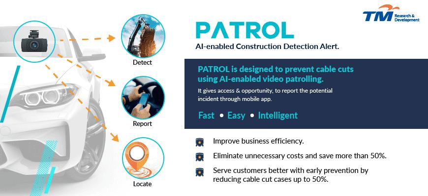AI-enabled construction detection alert